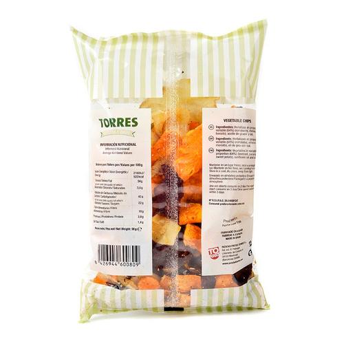 TORRES Patates Xips de vegetals