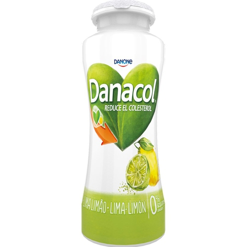 DANACOL Iogurt per beure de llima i llimona
