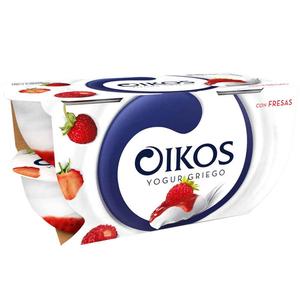 OIKOS Iogurt grec amb maduixes