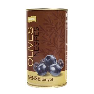 BONPREU Olives negres sense pinyol
