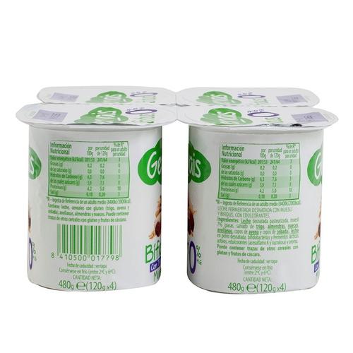 GERVAIS Iogurt bífidus amb trossos musli 0%