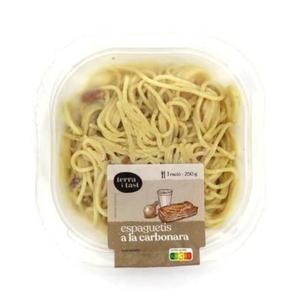 TERRA I TAST Espaguetis carbonara