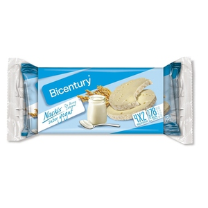 BICENTURY Coquetes d'arròs integral amb iogurt