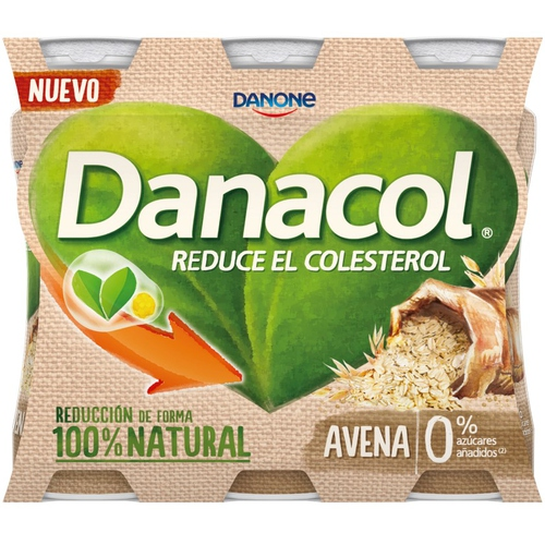 DANACOL Iogurt per beure de civada