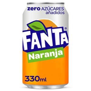 FANTA Refresc de taronja zero