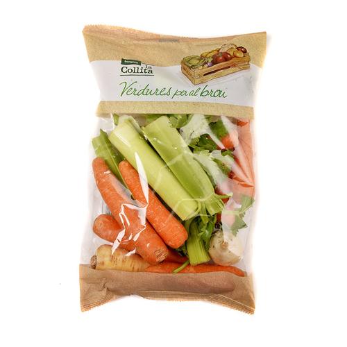 LA COLLITA Verdures per al brou safata 700 g.