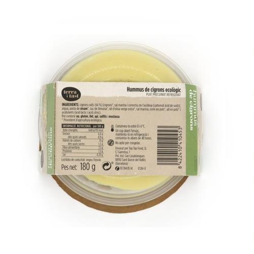 TERRA I TAST Hummus ecològic