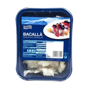 BONPREU Bacallà esqueixat dessalat