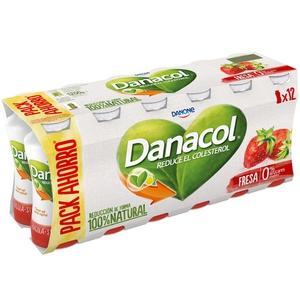 DANACOL Iogurt per beure de maduixa