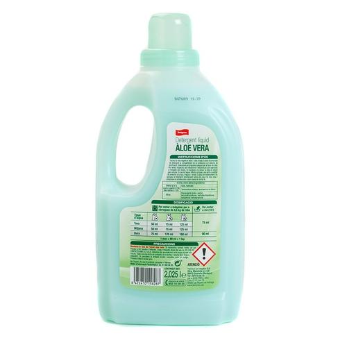 BONPREU Detergent líquid amb àloe vera en ampolla de 27 dosis