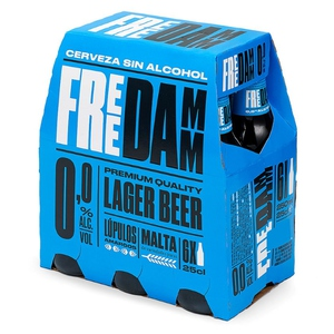 FREE DAMM Cervesa Premium sense alcohol