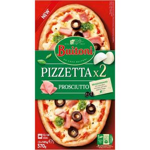 BUITONI Pizzeta pernil dolç i formatge