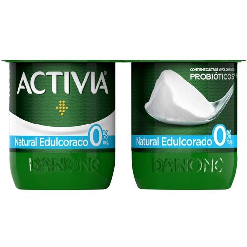ACTIVIA Iogurt natural edulcorat 0%