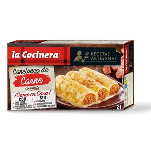 LA COCINERA Canelons de carn Recetas Artesanas