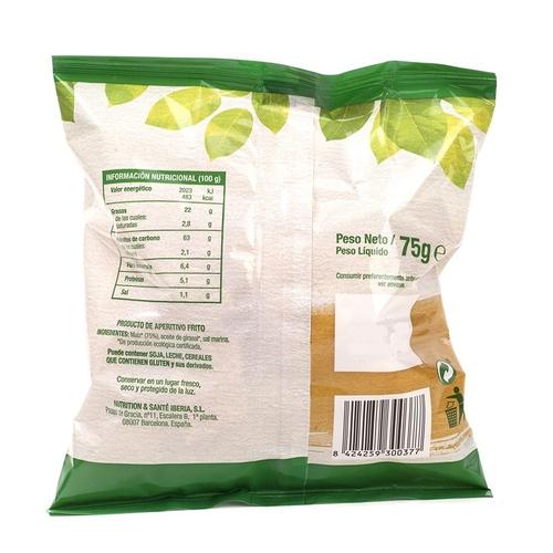 GERBLÉ Xips de blat de moro ecològic