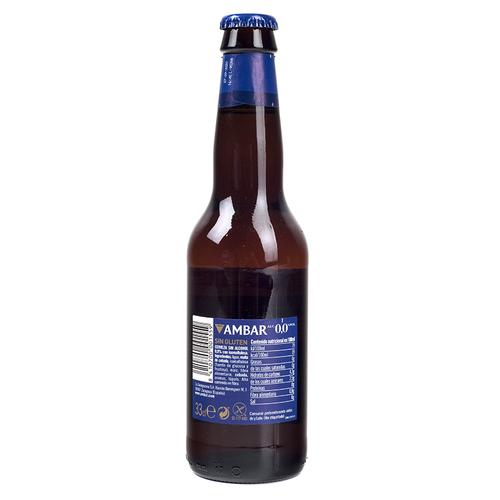 AMBAR Cervesa apta per celíacs sense alcohol